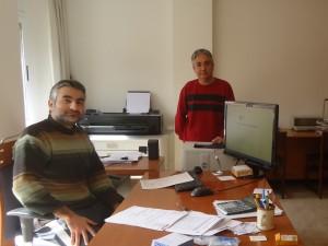 Foto a l'oficina
